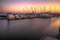Sunset at Poole Quay.... (P Sterling Images) Tags: water ferry boats long exposure harbour sony 4 quay dorset yachts condor ferries hdr poole slt lightroom vitesse a35 photomatix