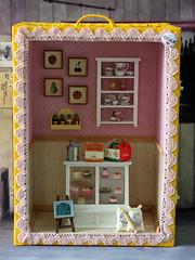 Handmade mini doll house by Anniedollz