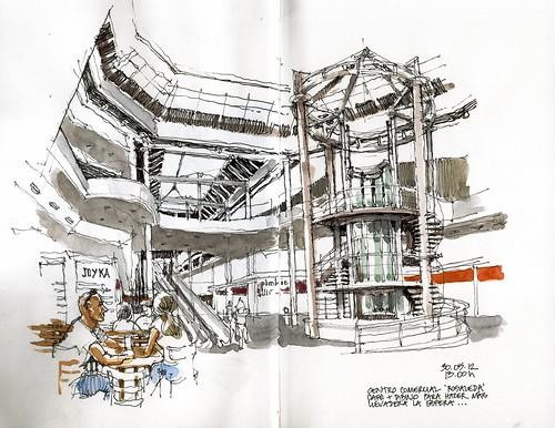 Malaga Rosaleda Shopping Mall