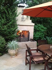 "A fire in the fireplace on a cool evening • <a style=""font-size:0.8em;"" href=""http://www.flickr.com/photos/79686536@N02/7310262388/"" target=""_blank"">View on Flickr</a>"