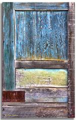 Honest -- it's a barn door (walla2chick) Tags: door usa clouds barn washington wa prescott topazadjust smithspringsrd 0232ta