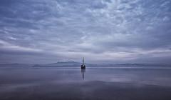 Chile_Puerto Varas_Boot2 (SIGMA Deutschland) Tags: chile lake boot see boat berge puertovaras weltreise bewlkt dster sigmaourworldtour sigmadeutschland worldscoutmariodirks fotografmariodirks