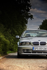 e46 320ci Coupe (wilco79) Tags: road car sport canon eos front bmw 18200 coupe efs 3series e46 500d canonefs18200mmf3556is