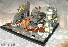 Battle of Berlin - What if?- ([Stijn Oom]) Tags: berlin lego contest battle ww2 russians germans moc t34