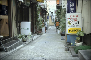 Quiet Kagurazaka street