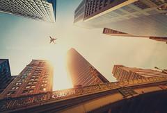 [128/366] (Manuel Gutjahr) Tags: city usa house newyork architecture skyscraper plane nikon manhattan manuel nikkor d800 366 1424 gutjahr project366