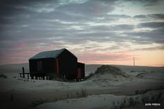 rancho 19 / s que ests ah (polameji) Tags: sunset house beach clouds canon landscape uruguay atardecer casa seaside pueblo cottage playa paisaje nubes rancho cabaa abode cabopolonio rocha dwelling polonio polameji