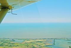 Into the Deep Blue (SkySNAPS Photography) Tags: summer june flying nikon lakeerie michigan aviation aerial greatlakes 162 cessna 2012 islandtour lsa generalaviation d3000 skycatcher lightsportaviation aperture3 n444um northmaumeebay