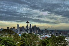 Kerry Sky (Andrew E. Larsen) Tags: seattle sky kerrypark papalars andrewlarsen andrewlarsenphotography kerryparkmystique