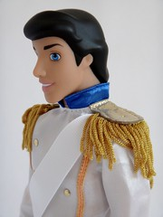 Prince Eric - The Little Mermaid and Eric Romance Doll Set - UK Disney Store Purchase - First Look - Deboxed - Free Standing - Portrait Right Front View (drj1828) Tags: uk eric uniform doll prince naval purchase disneystore firstlook thelittlemermaid freestanding dollset deboxed