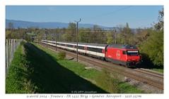Re 460 027-6 (CC72080) Tags: train sbb locomotive cff re460 founex interrégio