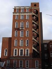 From Hope Street, Liverpool. January 2008. (philipgmayer) Tags: liverpool hospital demolished 1000 radium hopestreet