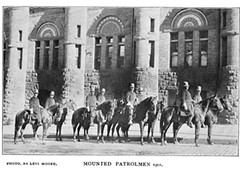 albany police dept mounted (horse) patrol   1904 in front of Washington ave armory  early 1900s (albany group archive) Tags: albany police dept mounted horse patrol 1905 front washington ave armory early 1900s oldalbany history