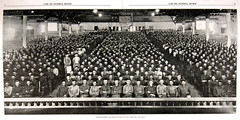 Naturalizing 1,200 men (Madison Historical Society) Tags: old people usa history museum newspaper interesting nikon image connecticut interior military country wwi picture newengland ct indoor worldwari madison historical inside greatwar firstworldwar route1 mhs conn 1stworldwar d600 bostonpostroad nikond600 leeacademy madisonhistoricalsociety madisonhistory bobgundersen