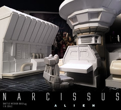 NARCISSUS38 (sith_fire30) Tags: sculpture building art scott miniature big model allen action alien aves ripley shuttle figure beast custom dayton diorama giger narcissus chap hrgiger prometheus sculpt styrene ridley xenomorph nostromo fixit sithfire30 covneant