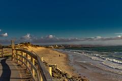 Walking to Glenelg (johnwilliamson4) Tags: seascape beach clouds australia adelaide southaustralia sanddunes waterglenelg