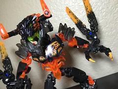 MOD: Lava Beast - 09 (stubs4limbs) Tags: bionicle ccbs stubs4limbs lego moc