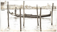 From the Archives (c.huller) Tags: venice gondola italy texture