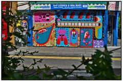MARLARKY SHUTTERS in SHOREDITCH (StockCarPete) Tags: streetart shutters londonstreetart shutterart marlarky