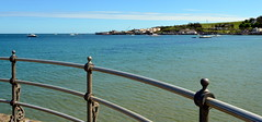 Swanage Looking to Pier (karenmarquick) Tags: sea pier seaside spring may dorset swanage