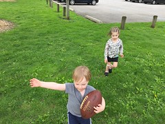 "Inde and Paul Play Football • <a style=""font-size:0.8em;"" href=""http://www.flickr.com/photos/109120354@N07/26844524980/"" target=""_blank"">View on Flickr</a>"