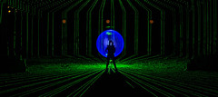 Xanad (Xanad) Tags: blue light lightpainting verde green luz azul night luces noche nikon nowhere orb nocturna orbe orbs nocturnas abandonedplaces nikonistas lugaresabandonados fotografanocturna perfectorb lpwalliance