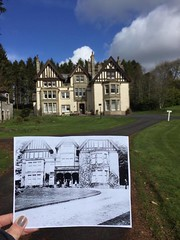 Whitmuir retreat Late 1800's & now. (Whitey's Pics) Tags: uk oldnew whiteyspics whitmuir clerklands
