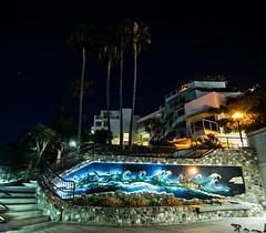Laguna Beach Art (ATOM1_Productions) Tags: art beach architecture sony pch socal nightscene laguna orangecounty westcoast pacificcoasthighway nightshooter