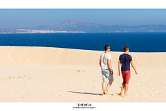 Dunas de Valdevaqueros - Tarifa (Franci Esteban) Tags: dunadevaldevaqueros duna tarifa estrechodegibraltar frica arena oceanoatlntico mar azules