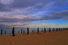 No summer in sight _MG_1601m(2) (maxo1965) Tags: beach clouds conero numana marche adriatic