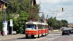 Tatra T4D #931 | Halle (Saale) (Philip Klug) Tags: old modern germany deutschland nice outdoor saxony tram praha leipzig sachsen tramway halle mainstation tatra saale trambahn lipsk ckd t4d strasenbahn t4dm
