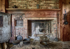 homecooking (pixability) Tags: fireplace pots ethanallen pans