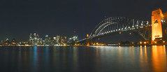 Sydney Harbour Panorama View (satochappy) Tags: panorama night cityscape nightscape sydney australia nightlight nsw operahouse harbourbridge sydneyharbour kirribilli