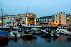 Spa - Bar - Restaurant (Fantastist) Tags: sea evening coast sweden harbour baltic marstrand kattegat skerry