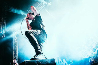 24-06-2016 // The Amity Affliction at Jera On Air // Shot by Jurriaan Hodzelmans
