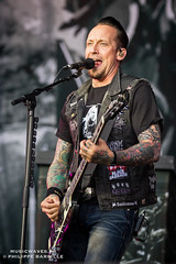 Volbeat @ Hellfest 2016, Clisson | 17/06/2015 (Philippe Bareille) Tags: volbeat heavymetal hardrock psychobilly hellfest clisson france mainstage 2016 music live livemusic festival open air show concert gig stage band rock rockband metal canon eos 6d canoneos6d musicwavesfr american musique artiste scne michaelpoulsen guitarist guitarplayer singer vocalist frontman leadguitar