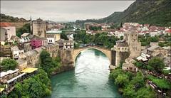 Mostar (Bert Kaufmann) Tags: bridge architecture war mostar bosnia ngc landmark krieg unesco brug architectuur reconstruction islamic islamicarchitecture starimost balkan oorlog oldbridge bosniaandherzegovina reconstructie bosni croatbosniakwar