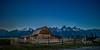 Twilight Moulton Barn (Travis Klingler (SivArt)) Tags: f14 nightsky grandteton rokinon24mm stars mormonrow danballard moultonbarn wyoming