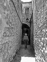 callejon en Girona (Luis M) Tags: calle girona gerona