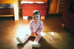 Bright Spot (mravcolev) Tags: light portrait window girl toddler shadows child floor serious naturallight 35l canonef35mmf14lusm canoneos5dmarkii 5dmkii