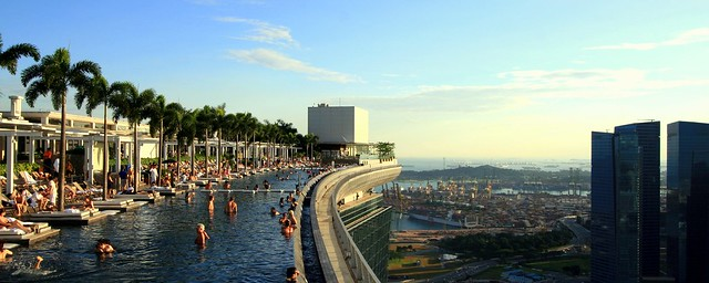 Day 93 - Infinity Pool @ Marina Bay Sands