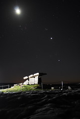 Dolman (DC-89) Tags: ireland night star rocks clare stones burren ropes nite twlight dolman