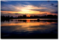 Committed To Memory (Kenny Shackleford) Tags: sunset sky sun reflection water clouds alabama montgomery blountculturalpark spectacularsunsetsandsunrises mygearandme