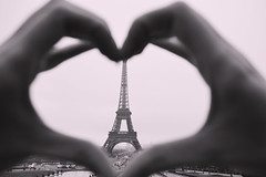 Paris Love (prittii) Tags: paris france hands heart eiffeltower romanticparis