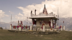 maa chiltha temple #5 (parth joshi) Tags: snow green water pine oak stream rhododendron temples peaks himalayas nandadevi solace deodar uttarakhand kumaun bageshwar pindariglacier dhur