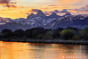 Teton River Sunrise (James Neeley) Tags: mountains sunrise landscape grandtetons tetons hdr tetonvalley 5xp jamesneeley