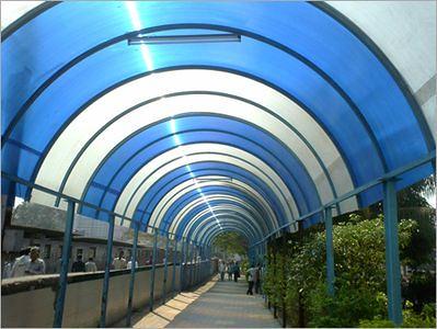 Plancha ondulada de policarbonato transparente - Planchas de policarbonato precios ...
