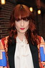 Florence And The Machine lead singer Florence Welch Celebrities arrive at The Ed Sullivan Theater for 'The Late Show with David Letterman' New York City, USA