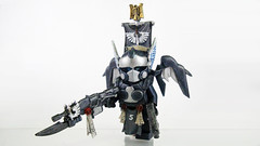 Brother Angadar , The Arcane Bishop ([N]atsty) Tags: blue angel silver grey wings gm gun lego fig painted awesome games figure warhammer knight minifig custom minifigure gamesworkshop worksho mi
