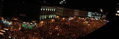 Sol lleno (FerLinyera2) Tags: madrid sol panoramic panoramica documental 15m democracia spanishrevolution plazadesol democraciarealya acampadasol 12m15m ennombredelademocracia
